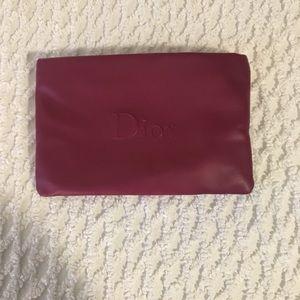 NWOT Dior Cosmetic Bag